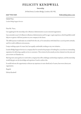 Free Cover Letters Examples By Industry Job Full Guides
