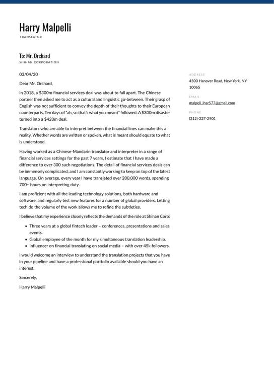 Cover letter for freelance translators esl application letter writing sites gb