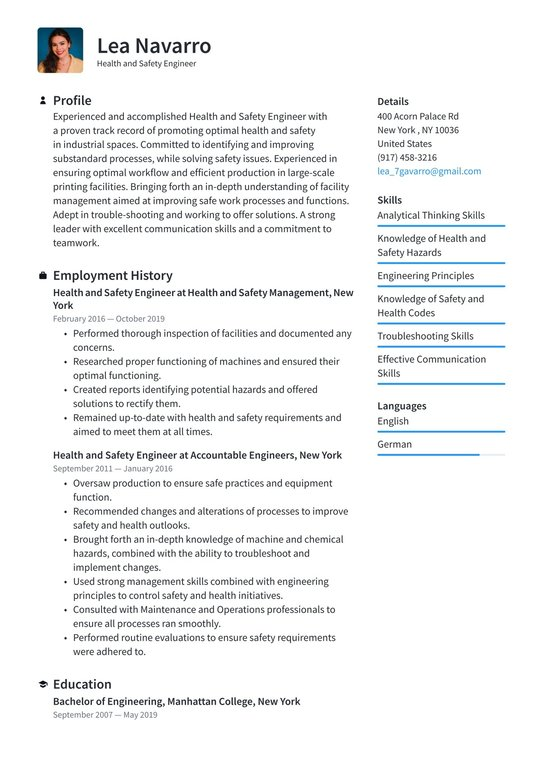 Environmental health and safety engineer resume essays on high school cliques