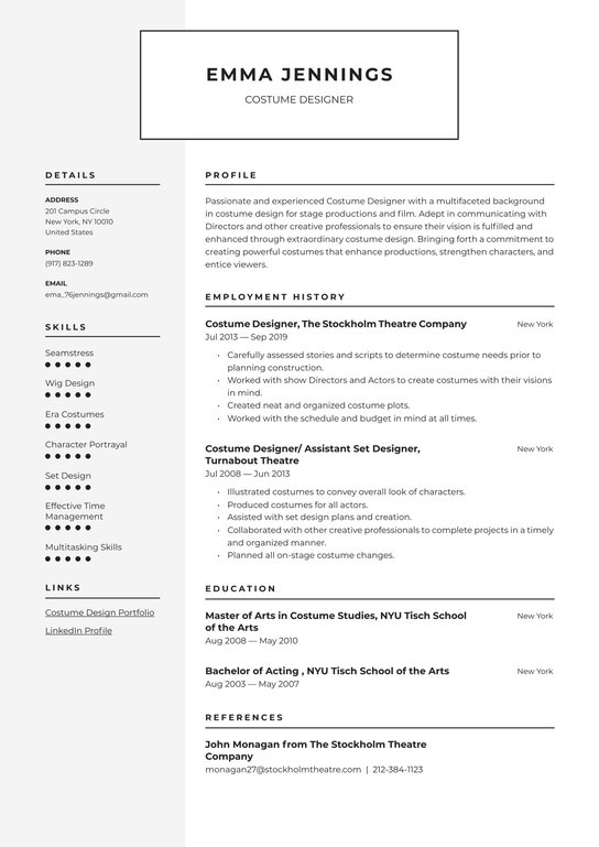 Set design resume are there any free essay websites