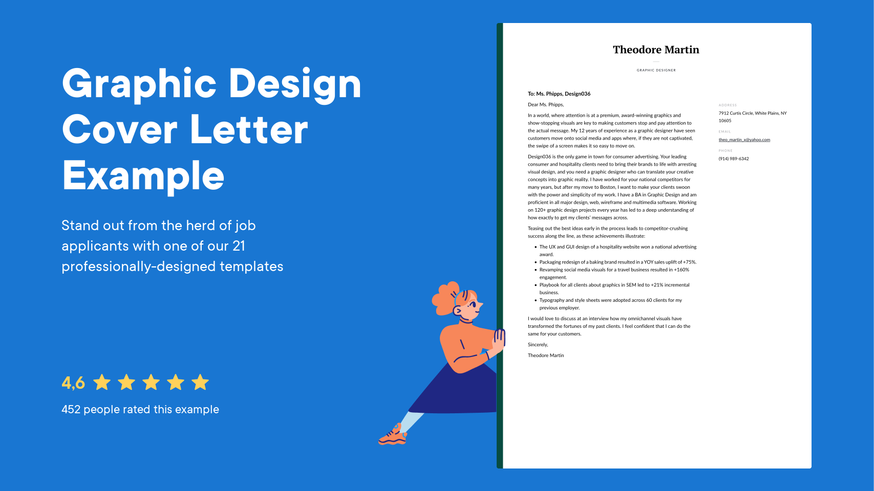 Cover Letter By Graphic Designer Topmost Concept Most Popular