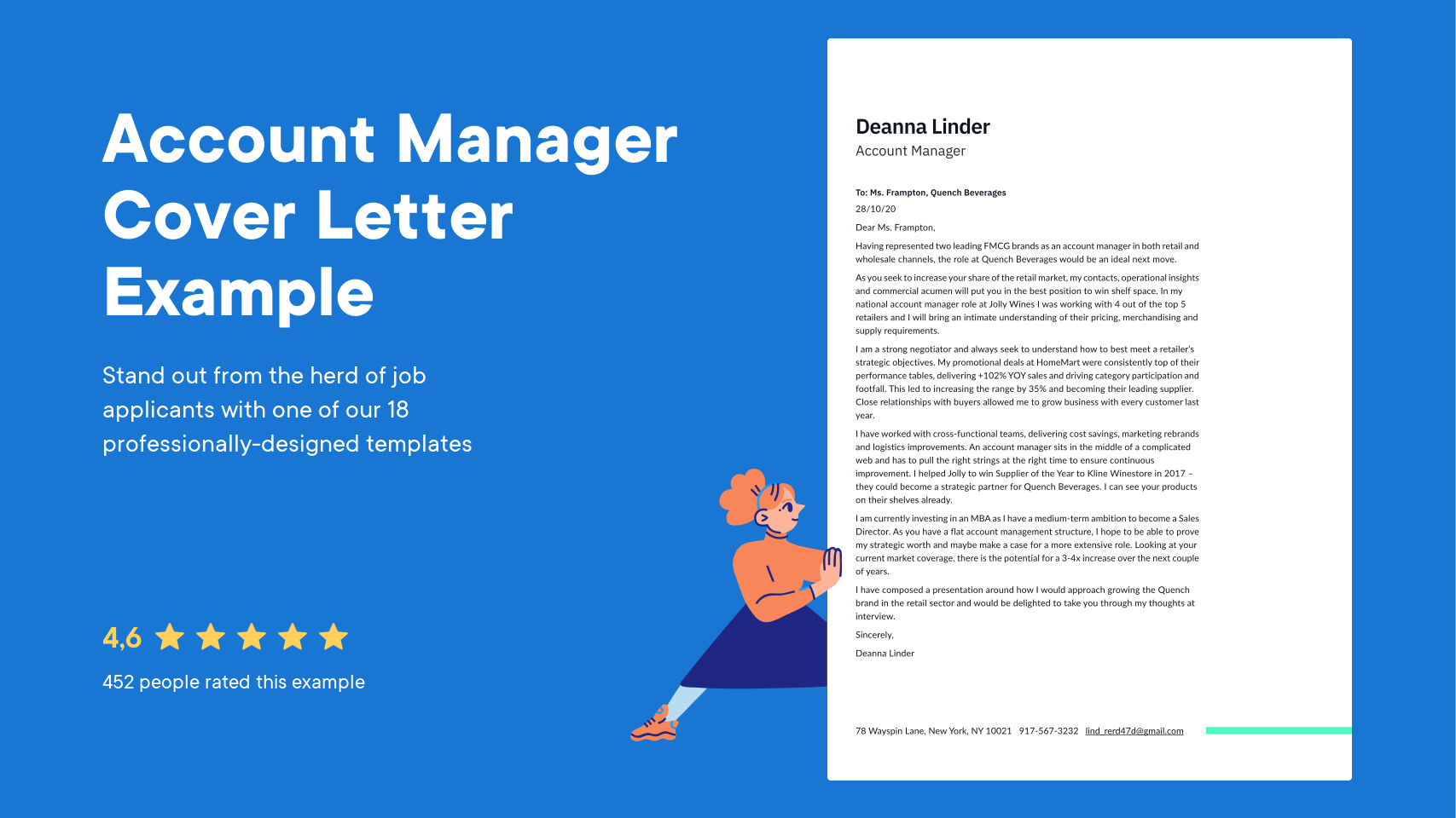 Account Manager Cover Letter Examples Expert Tips Free