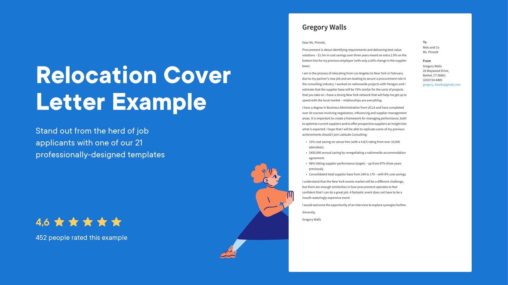 Relocation Cover Letter Examples Expert Tips Free Resume Io